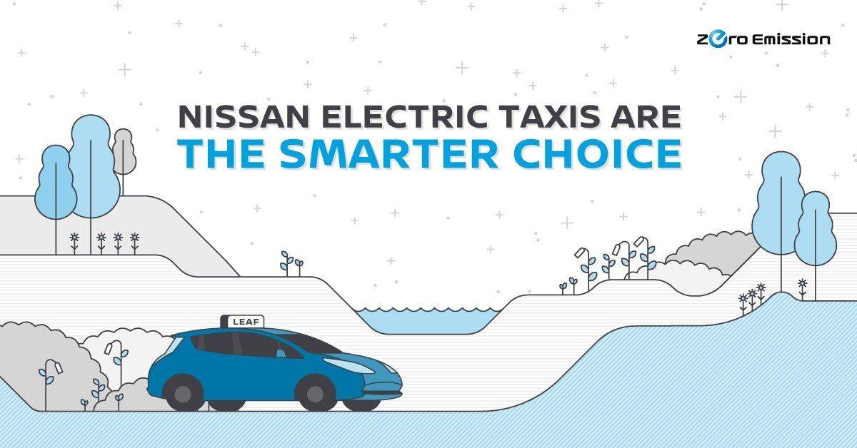 Elektrische taxi's van Nissan