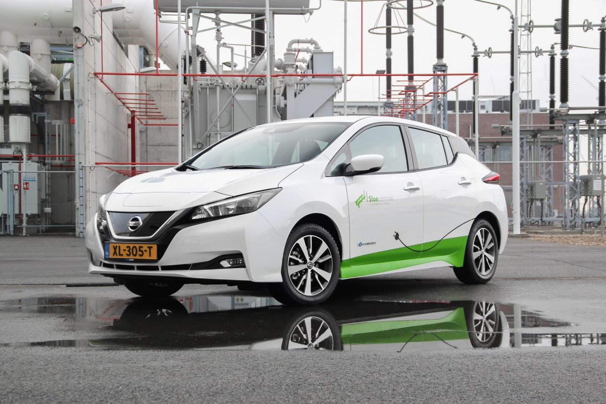 24 X Nissan Leaf Voor Zeeuwse Sloecentrale Nec Nissan Electric Club