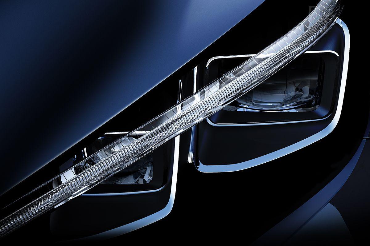 Nissan 2018 Headlight Sneak Preview