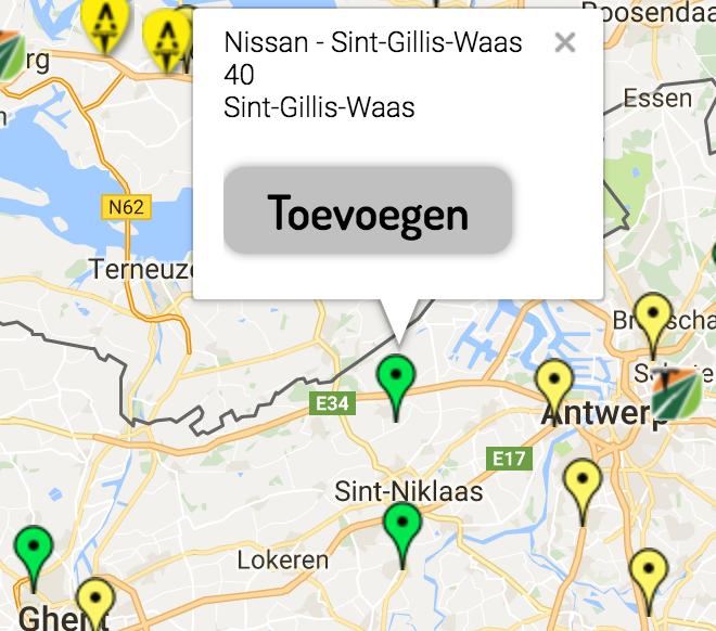 Ten westen van Antwerpen