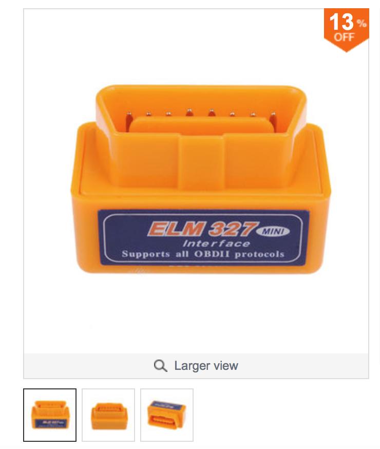 MiniELM327OBD2_oranje